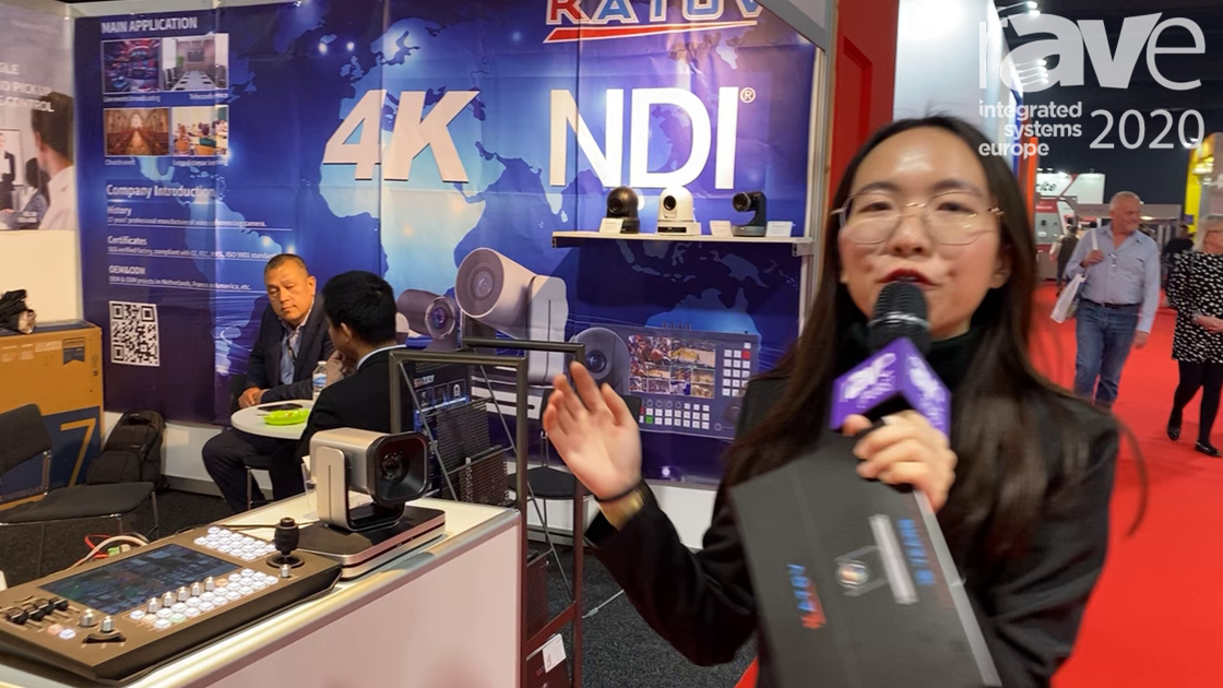 ISE 2020: Katov Shows KT-K3 Portable Broadcast Device with Audio Mixer, PTZ Controller and Switcher