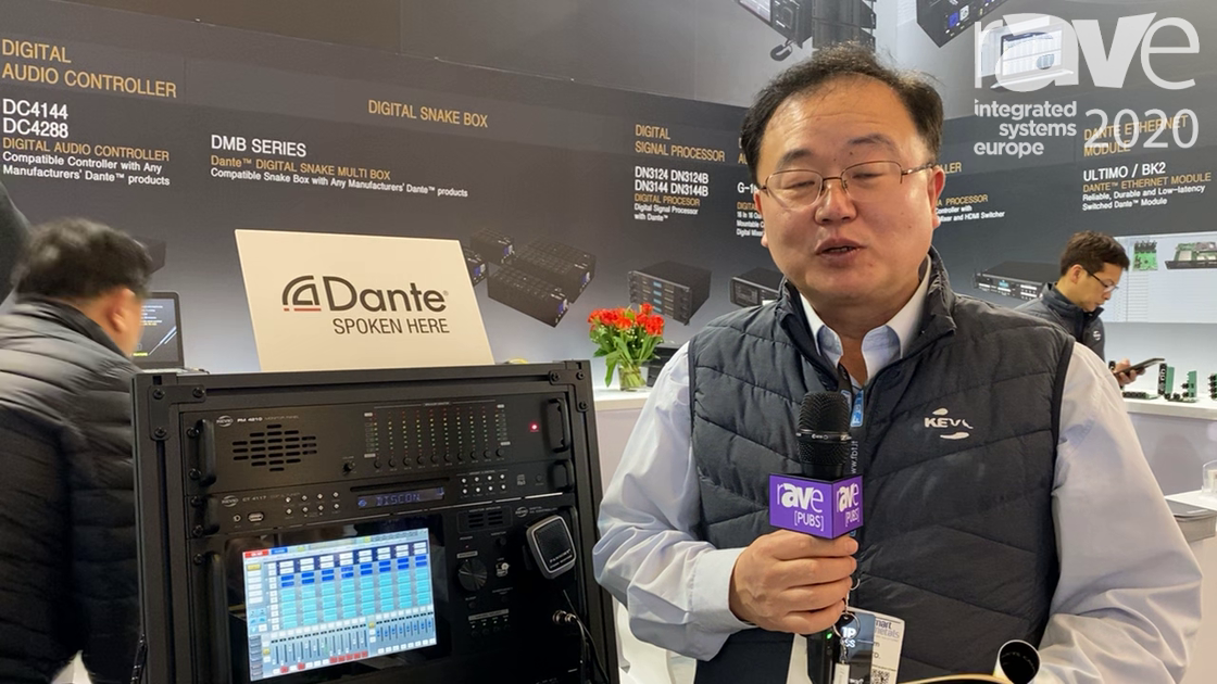 ISE 2020: Kevic Presents DP5000 PA System with Dante