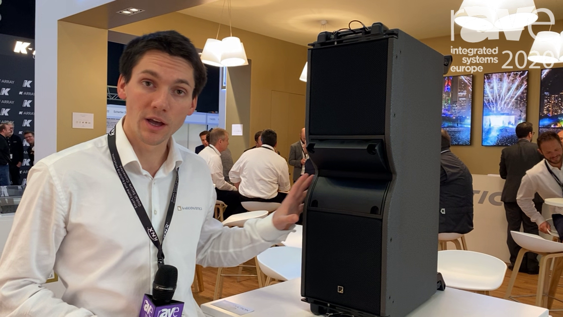 ISE 2020: L-Acoustics Shows Kara II Speaker with Variable Directivity and Improved Polar Stability