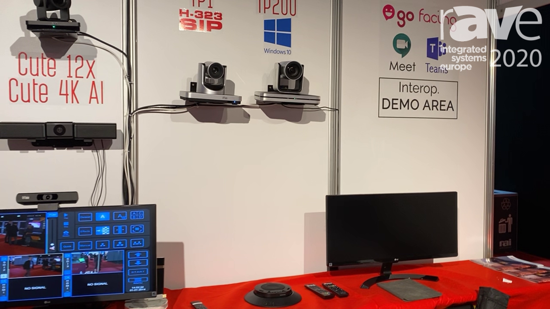 ISE 2020: Laia Tech Presents TP1 and PT 200 Videoconferencing Cameras