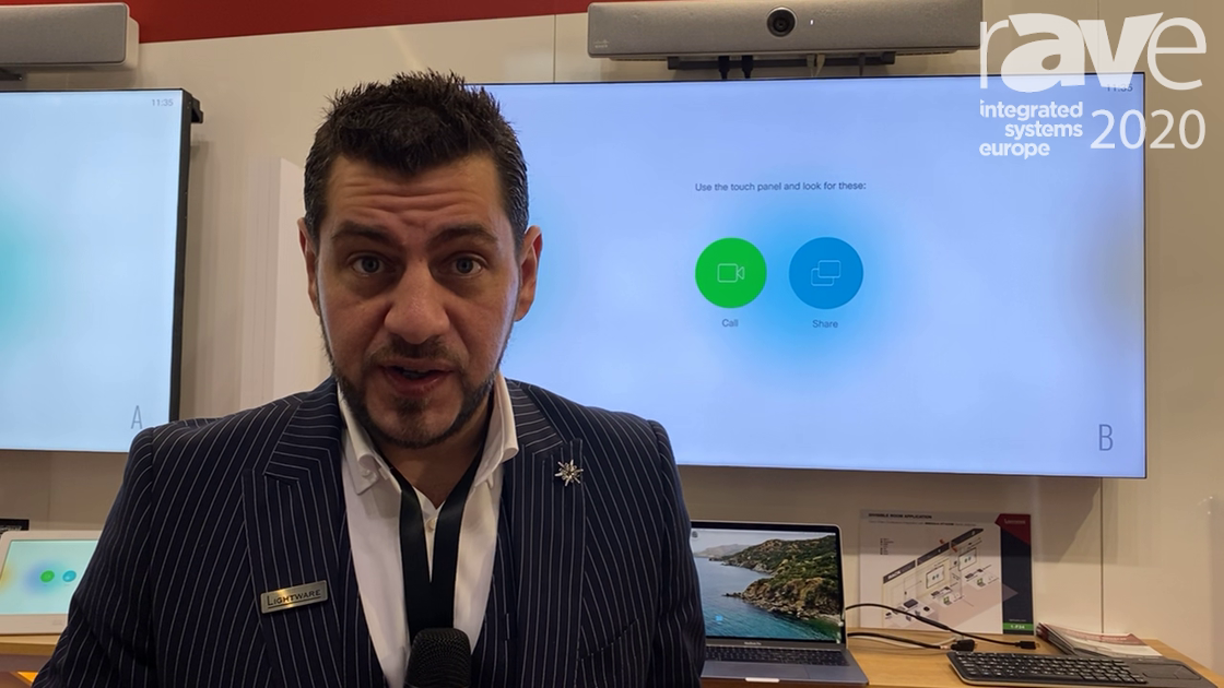 ISE 2020: Lightware Adds Divisible Room Solution to Cisco Room Kit Integration