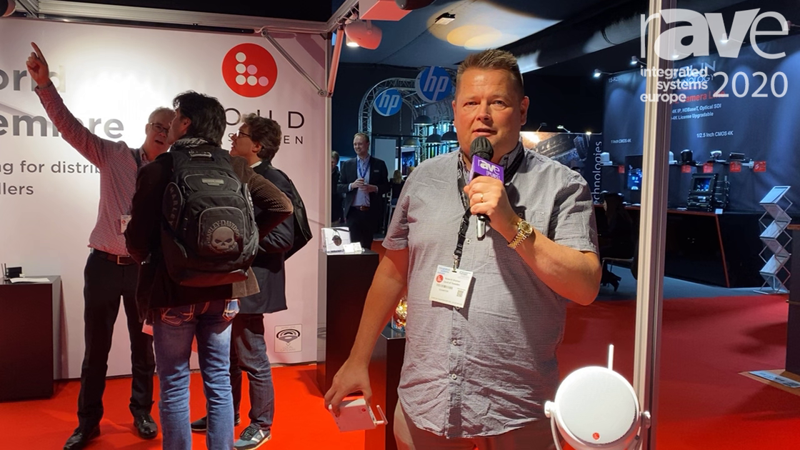 ISE 2020: Loud of Sweden Presents S1 Satellite Track-Mounted Speaker