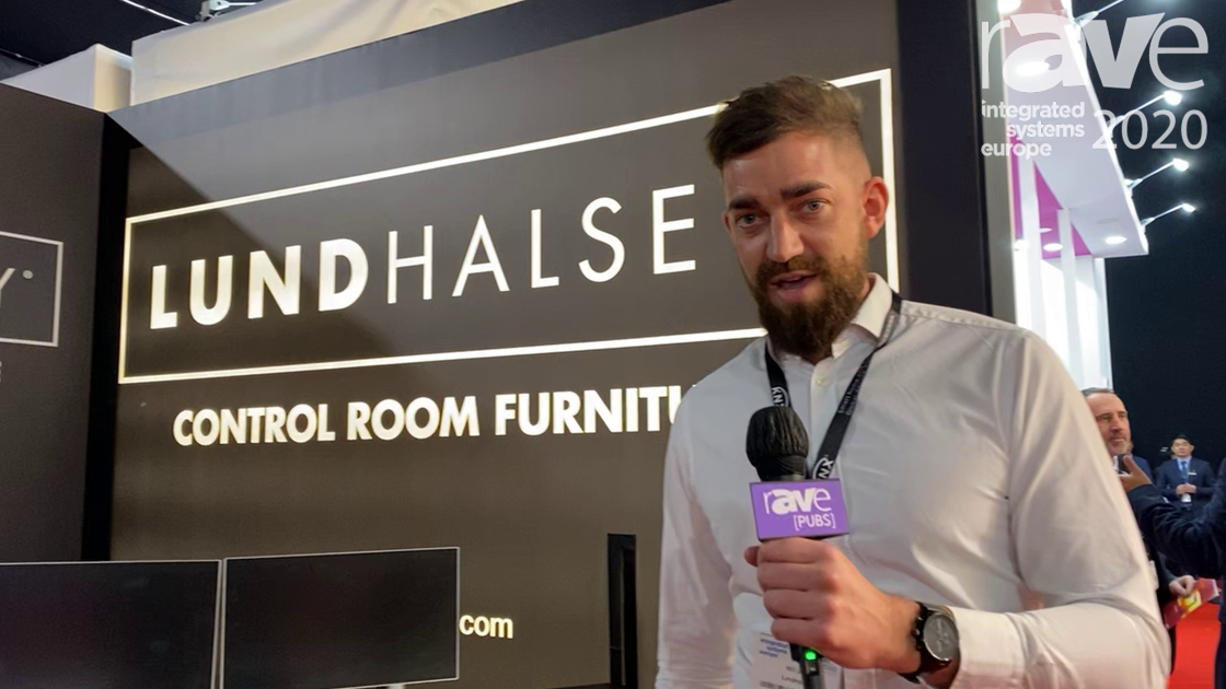 ISE 2020: LundHalsey Presents Custom Control Room Furniture