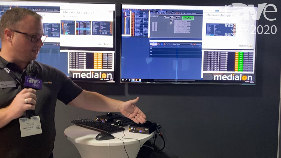 ISE 2020: Medialon Launches Showmaster Go, a Ruggedized Show Controller and Audio Server