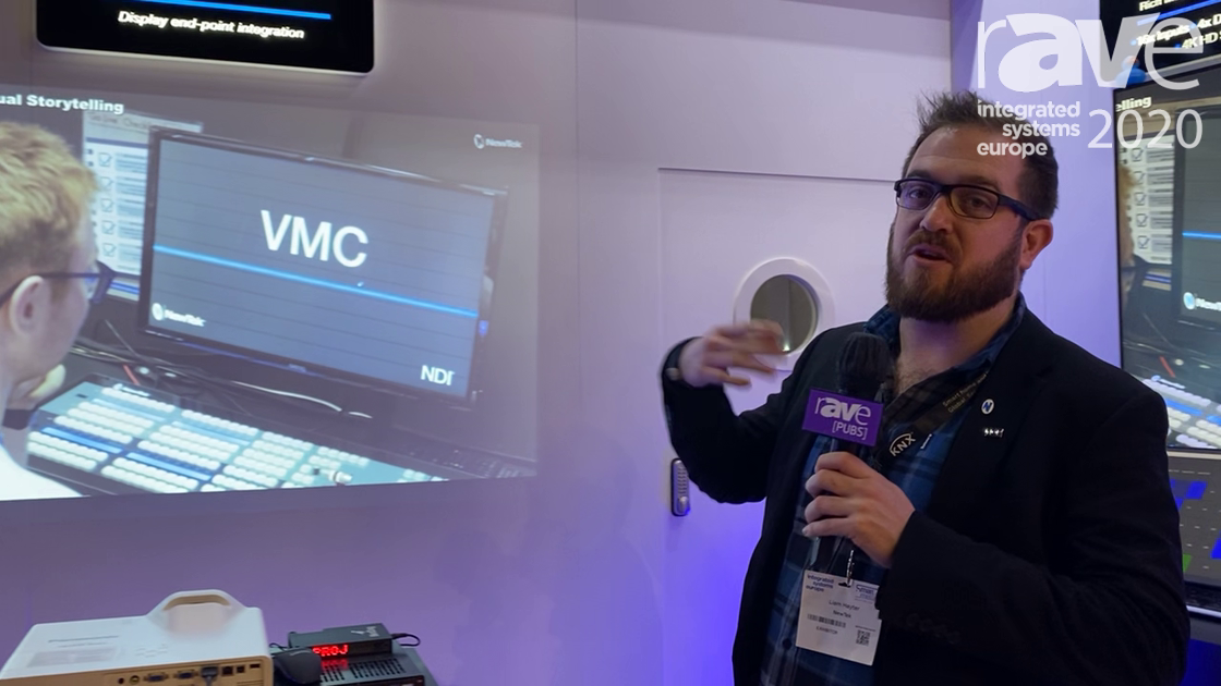ISE 2020: NewTek Showcases VMC and NDI for AV Applications