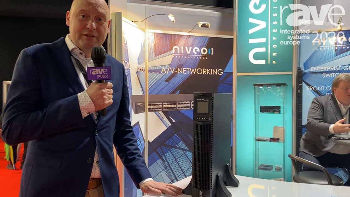 ISE 2020: Niveo Professional Shows NUPS23-1000U UPS for Remote Management