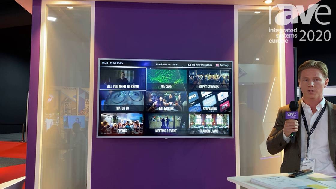 ISE 2020: Otrum Talks About Hardware-Agnostic Cloud-Powered Hospitality TV