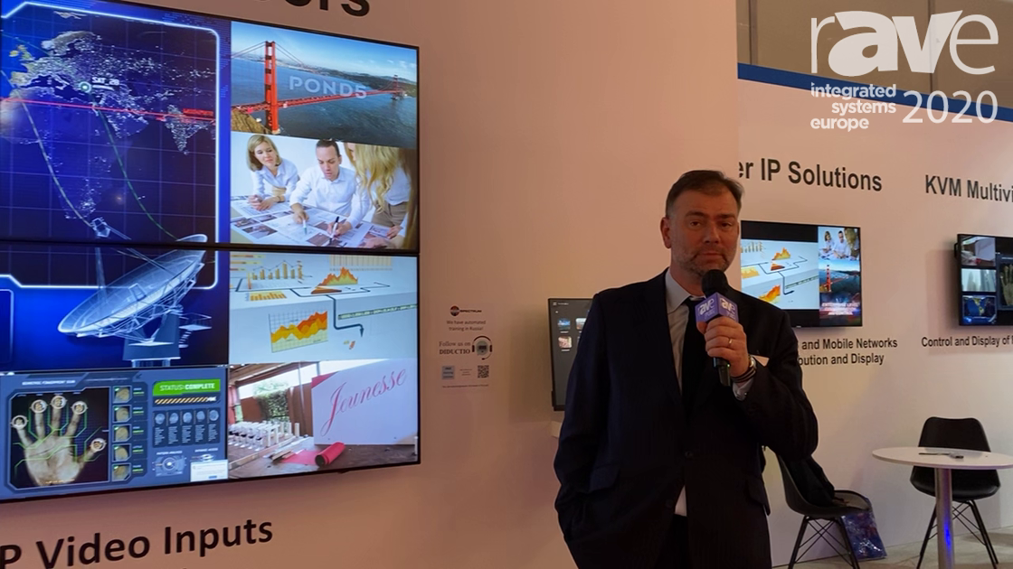 ISE 2020: RGB Spectrum Shows Off Zio W4000 Video Wall Processor, Expanding AV-over-IP Product Family