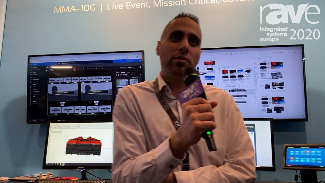 ISE 2020: evertz AV Showcases MMA-10G Routing Platform for Audio, Video, and USB Routing