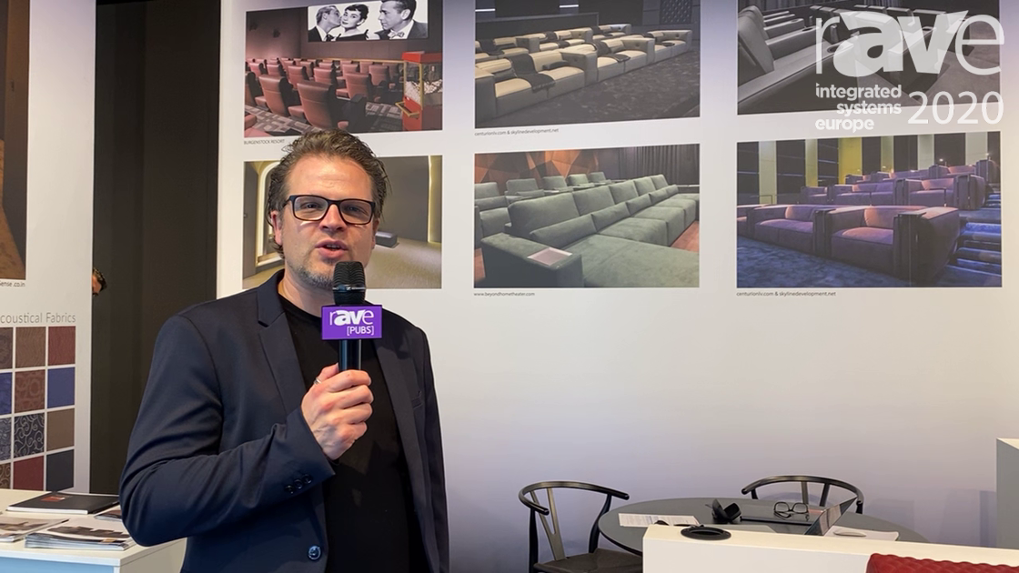 ISE 2020: CINEAK Showcases Apollo Theatre Chair with Motorized Head Rest