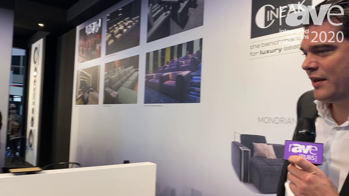 ISE 2020: CINEAK Presents Mondrian, a Triple Motorized Sofa