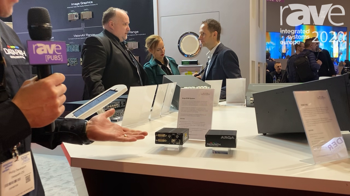 ISE 2020: DATAPATH Shows Arqa KVM System for Demanding Command and Control Applications