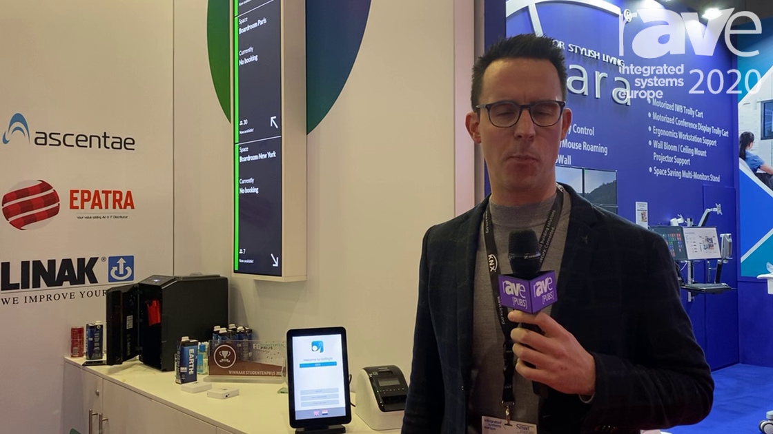 ISE 2020: GoBright Demos Visit, an Easy and GDPR-Proof Digital Self-Registration for Visitors