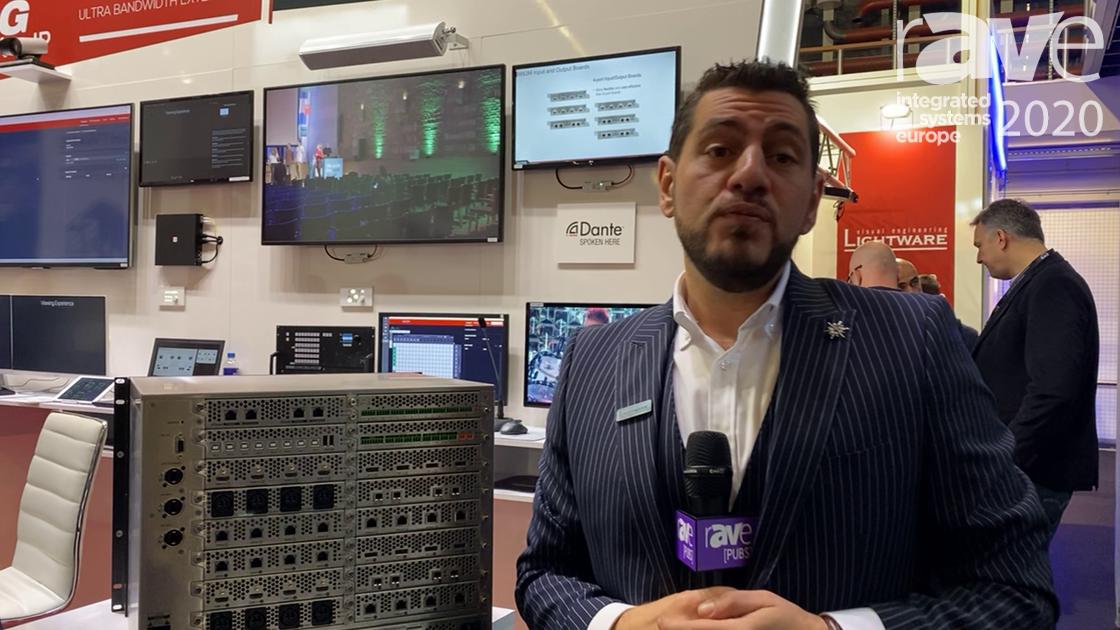 ISE 2020: Lightware Introduces MX2M-FR 24×24 Modular Matrix Switcher
