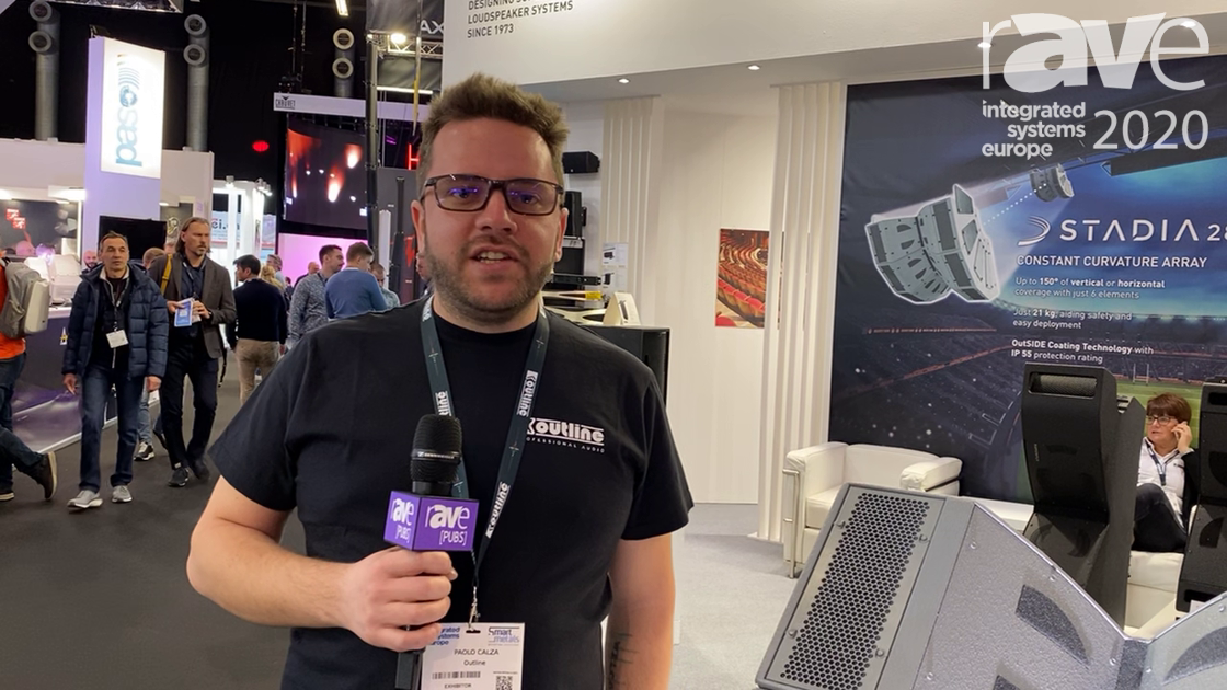 ISE 2020: Outline Intros STADIA 28 Constant Curvature Array Loudspeaker