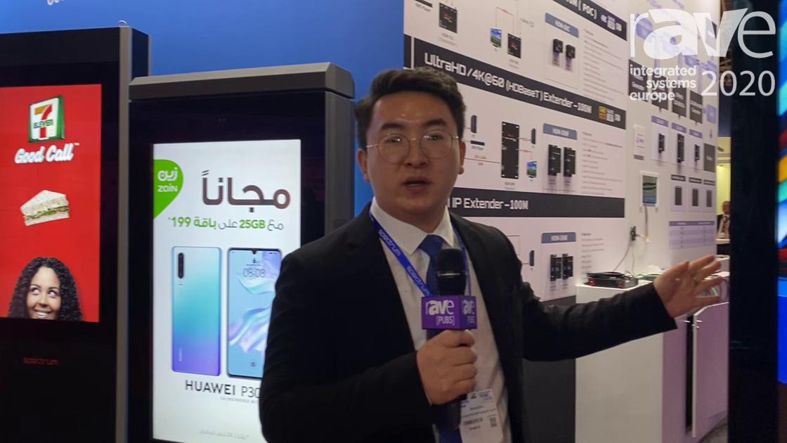 ISE 2020: Shenzhen Spectrum Technology Showcases 55″ Double-Sided Digital Signage Display Kiosk