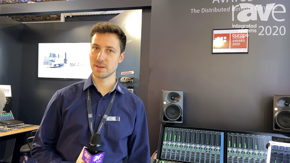 ISE 2020: Stage Tec Intros Avatus Audio Mixer Series With Large Programmable Touch Screens