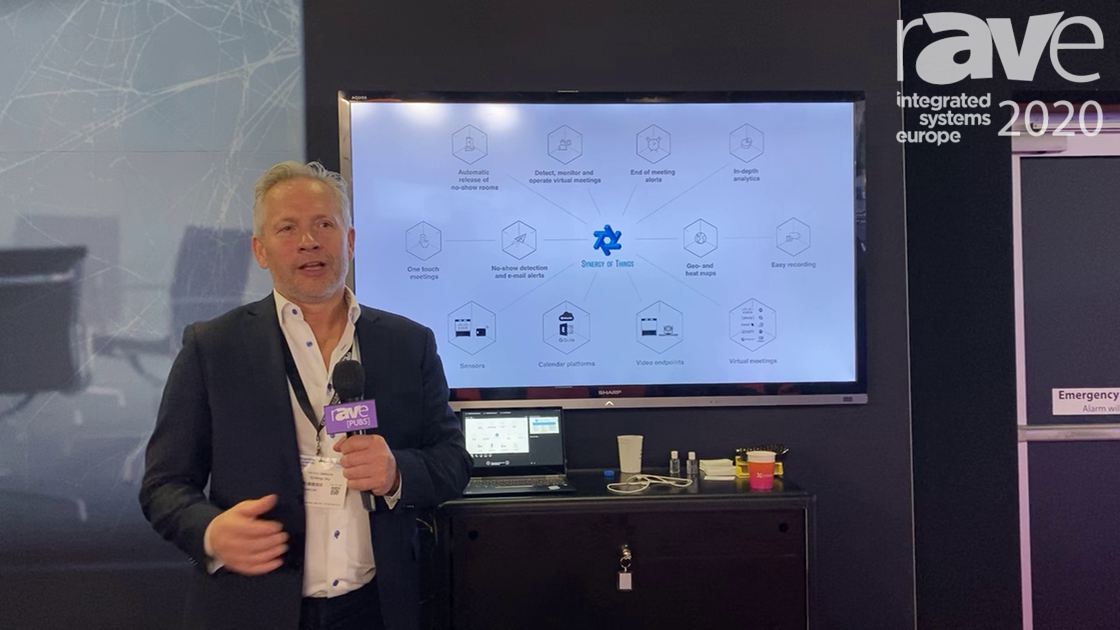 ISE 2020: Synergy SKY Is Using IoT Sensors to Prevent Ghost Meetings