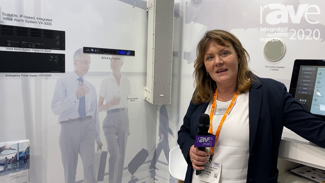 ISE 2020: TOA Electronics Talks About Its Airport Sound Paging and Emergency Solutions