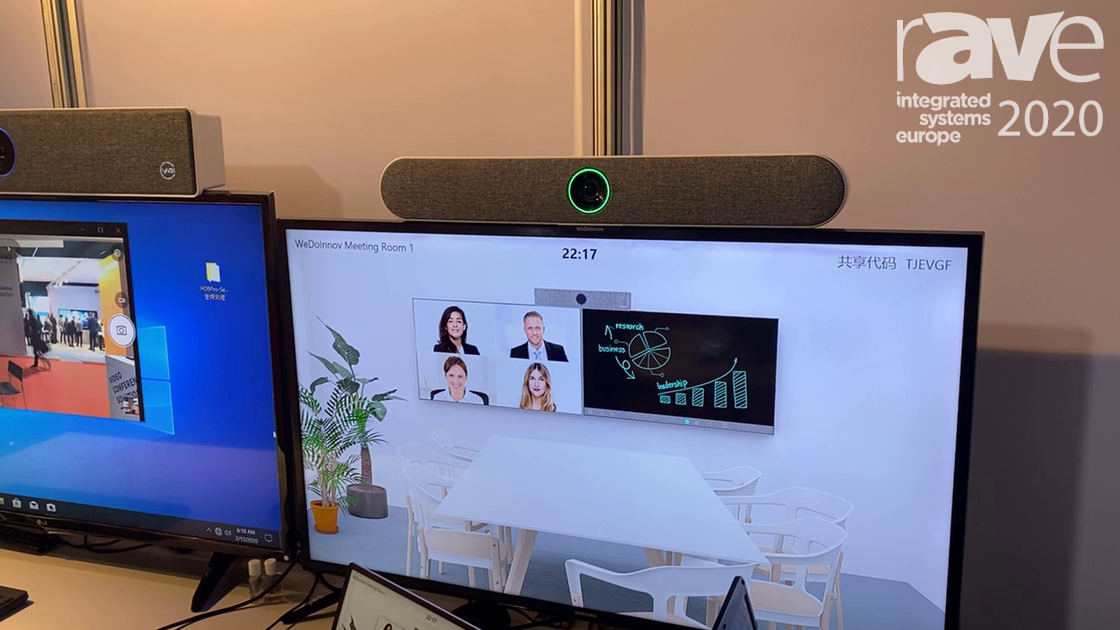 ISE 2020: Shenzhen WeDo Industrial Co. Showcases TB01 Soundbar for Smart Meeting Rooms