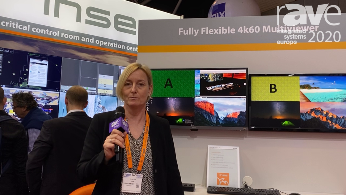 ISE 2020: ihse Demos New 4K60 Real-Time Multiviewer