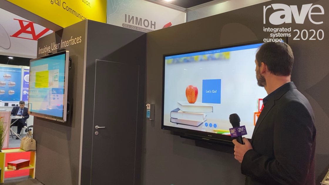 ISE 2020: smartPerform Demos Collaboration Application With External Video Sources, Wireless Sources
