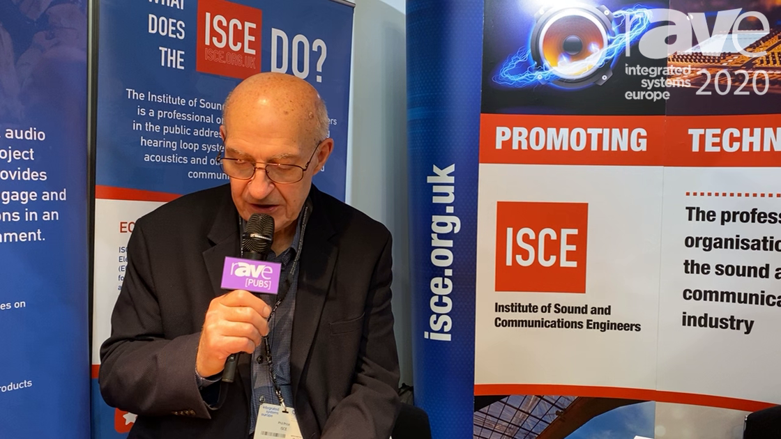 ISE 2020: ISCE Offers Industry Training and Membership for Sound and Communication Engineers