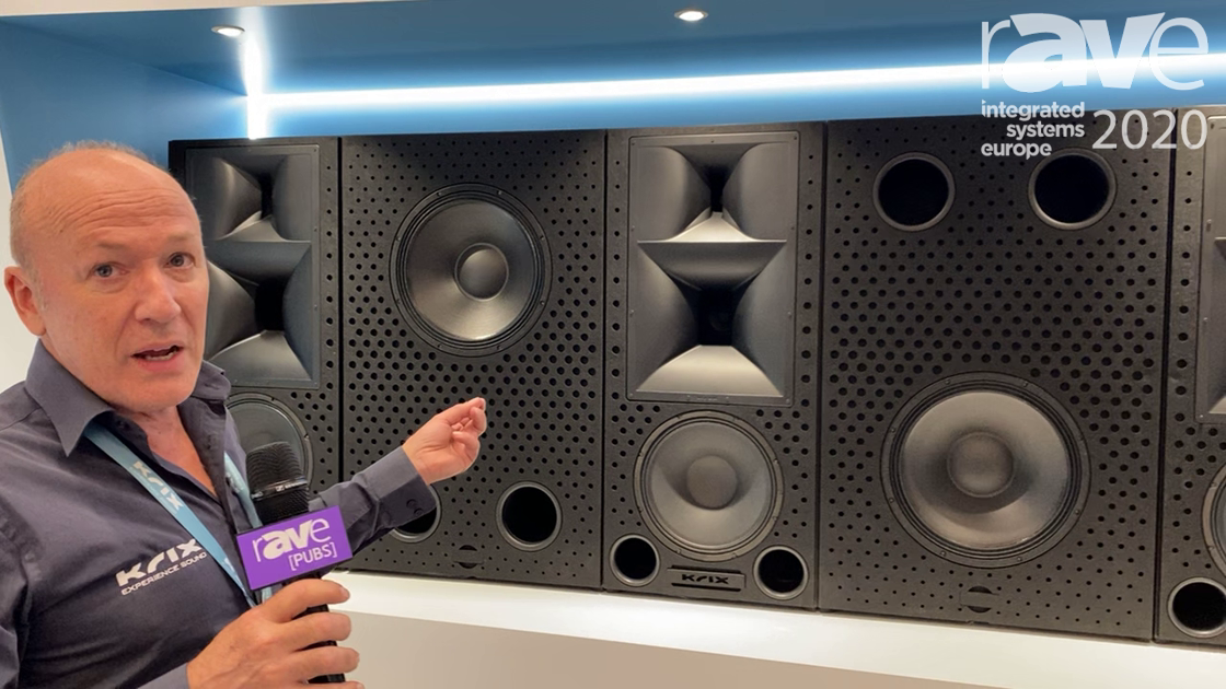 ISE 2020: Krix Loudspeakers Features Real Cinema at Home, Based on Commercial Cinema Speakers