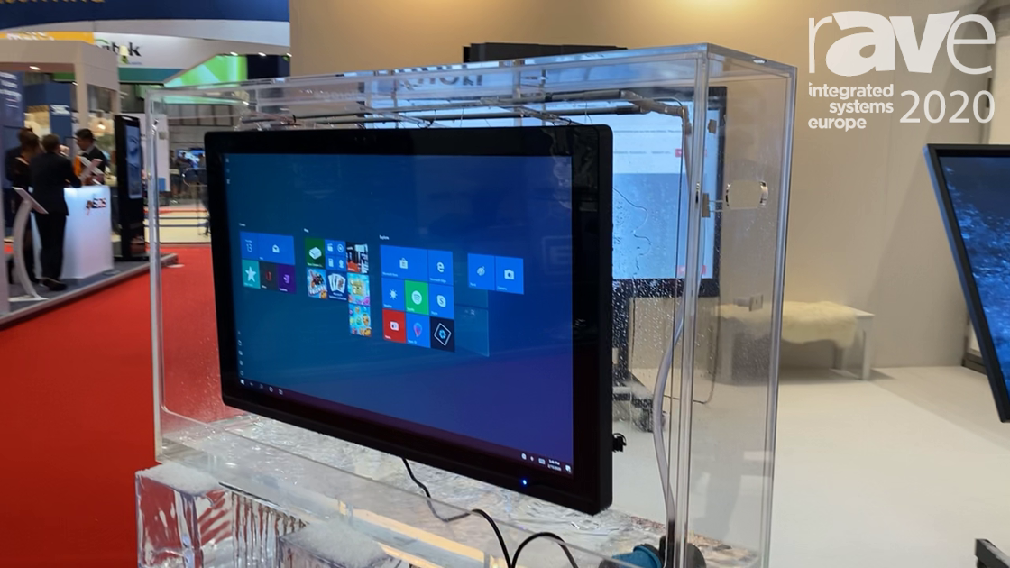 ISE 2020: Kuori Showcases IP67-Rated Display Customized for Rugged, Outdoor Solutions