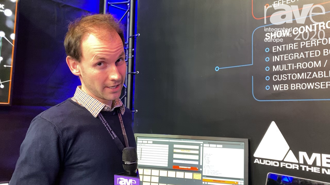 ISE 2020: Merging Technologies Highlights the Ovation Audio Sequencer and Show Controller