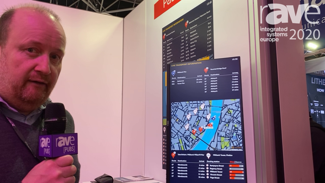 ISE 2020: PassageWay Offers Browser-Based Real-Time Mobility and Digital Wayfinding Signs