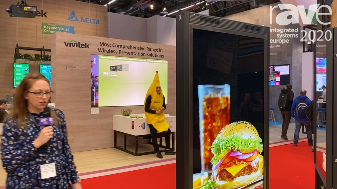ISE 2020: SmartMetals Intros Floor or Ceiling Mount for Samsung OMN-D Retail Display