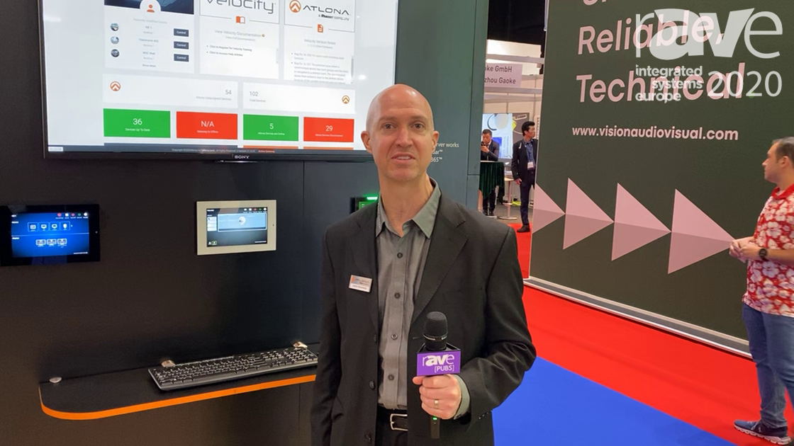 ISE 2020: Atlona Releases Velocity 2.0, Now With AMS Asset Management Platform and Scheduling