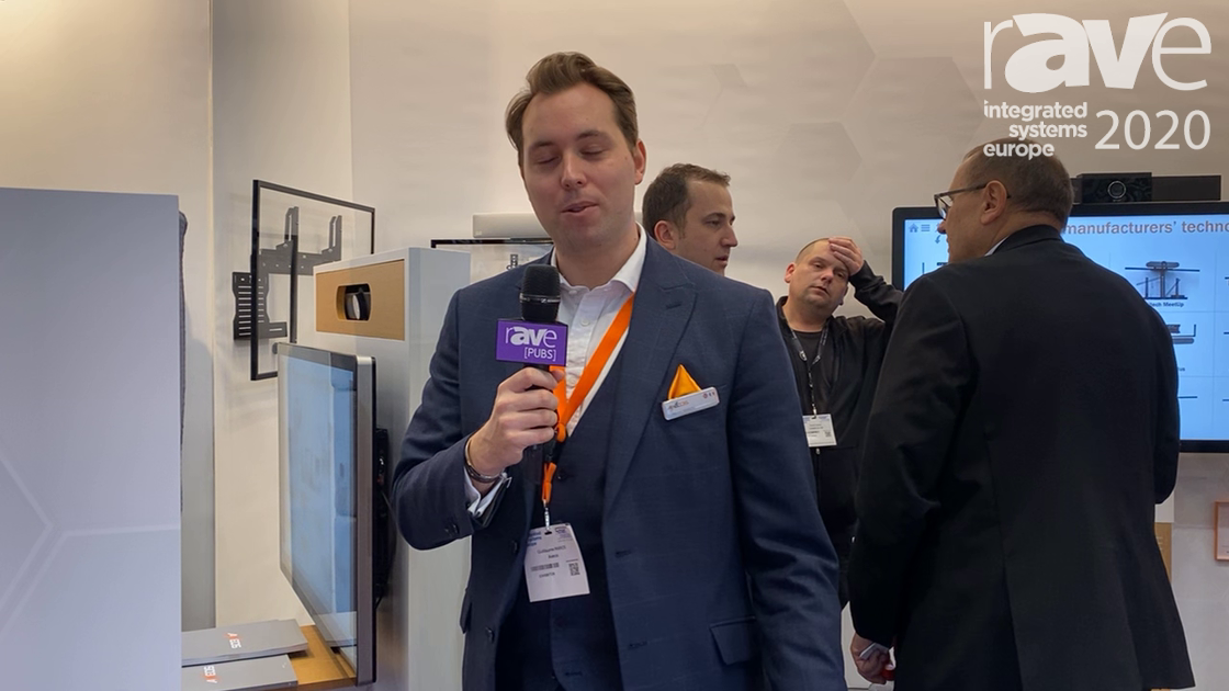 ISE 2020: Axeos Showcases the New MX Pod Huddlespace Solution