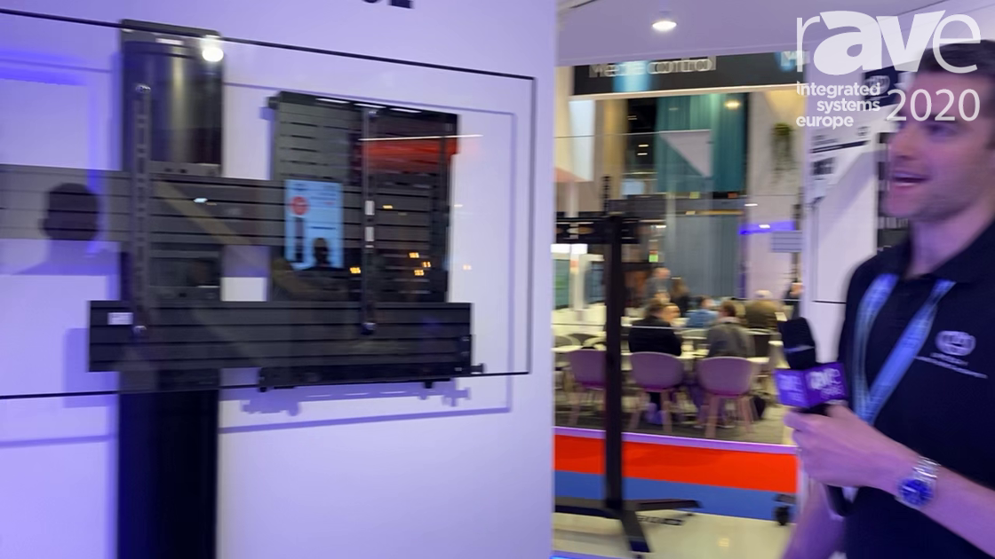 ISE 2020: B-Tech AV Mounts Talks Mode-AL Premium Range, Including BT7884 Flip Down AV Storage Tray