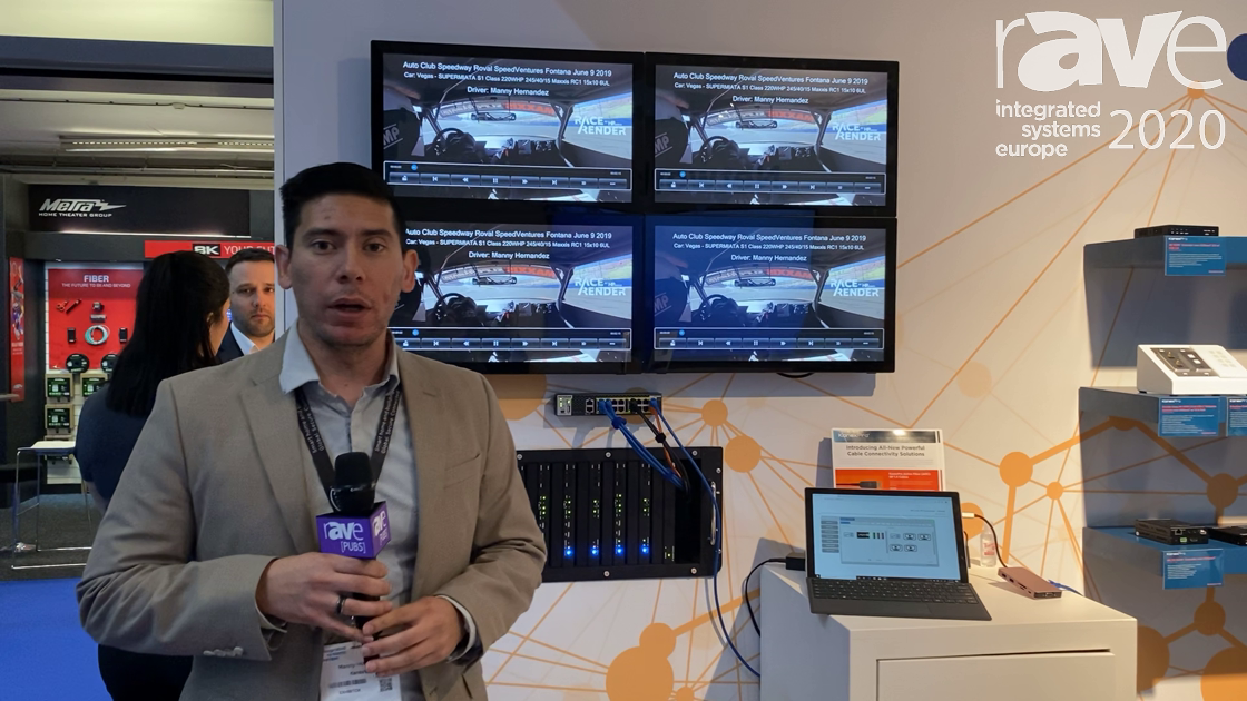 ISE 2020: KanexPro Demos Next Generation Modular Matrix System Powered by SDVoE