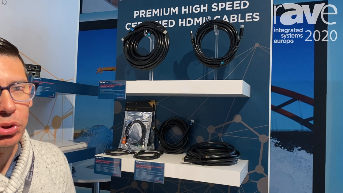 ISE 2020: KanexPro Presents Its Range of High Speed Certified HDMI Cables