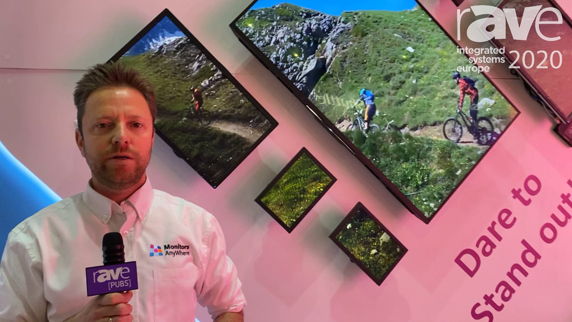 ISE 2020: Monitors AnyWhere Reveals Its Android-Based MAWi Player for Creating Video Wall Layouts