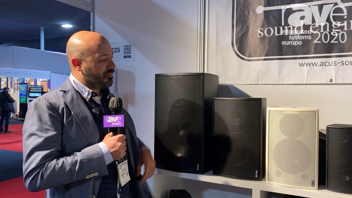 ISE 2020: Acus Sound Engineering Features Indoor Passive Speakers Available in Black and White