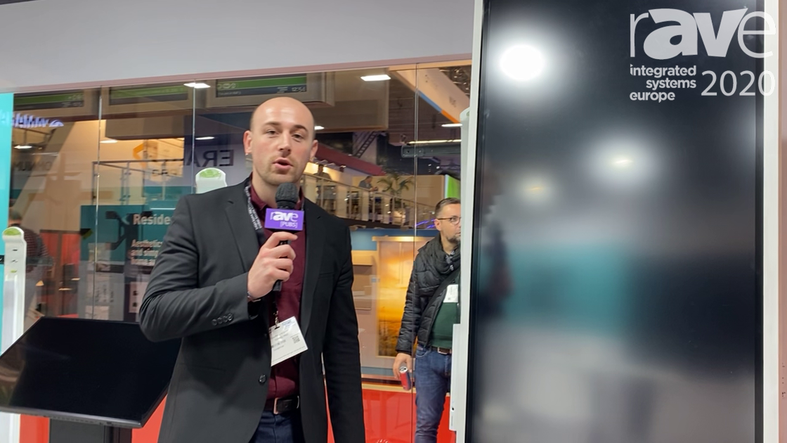 ISE 2020: ERARD Demos the KROSS Mobile Stand for the Samsung Flip 2