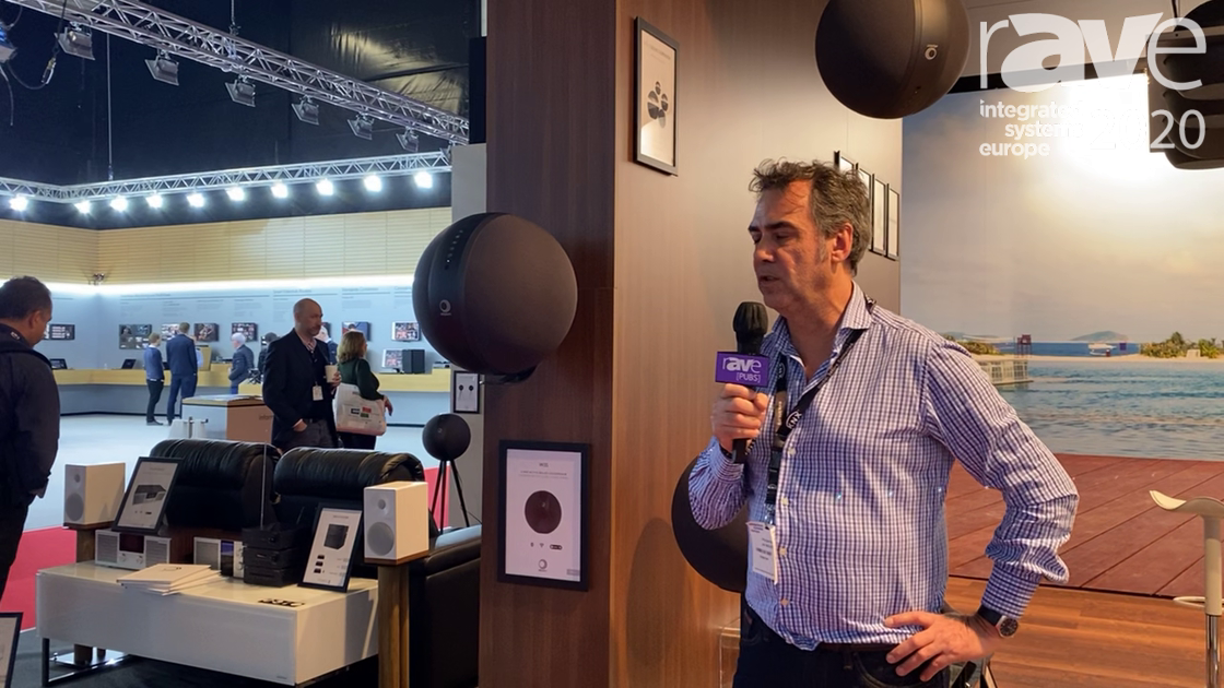 ISE 2020: Elipson Shows Off Its Sphere-Shaped W35 Wireless Speaker