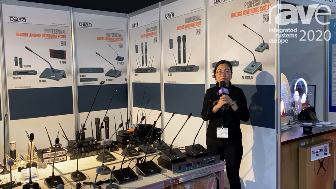 ISE 2020: Enping Microphones Highlights Its Professional Digital Conference System