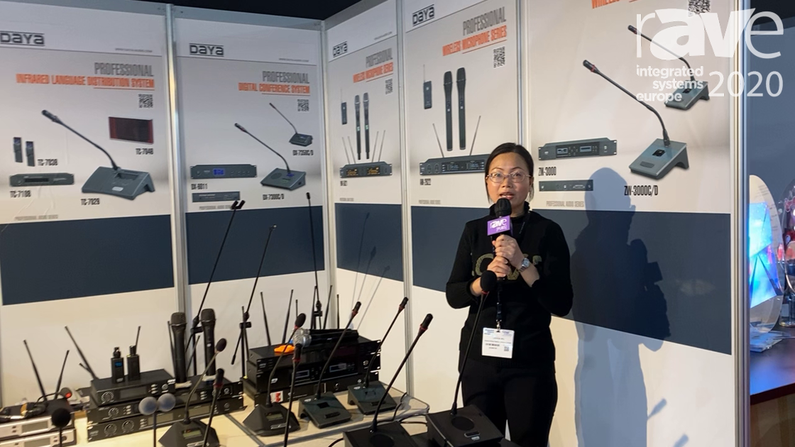 ISE 2020: Enping Microphones Talks About Its Wireless Conference System