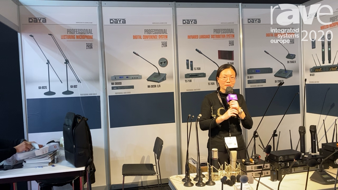 ISE 2020: Enping Microphones Highlights Wireless Microphone System