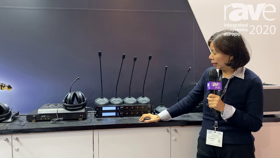 ISE 2020: JTS Showcases the CS-W4C Features Wireless Conference System