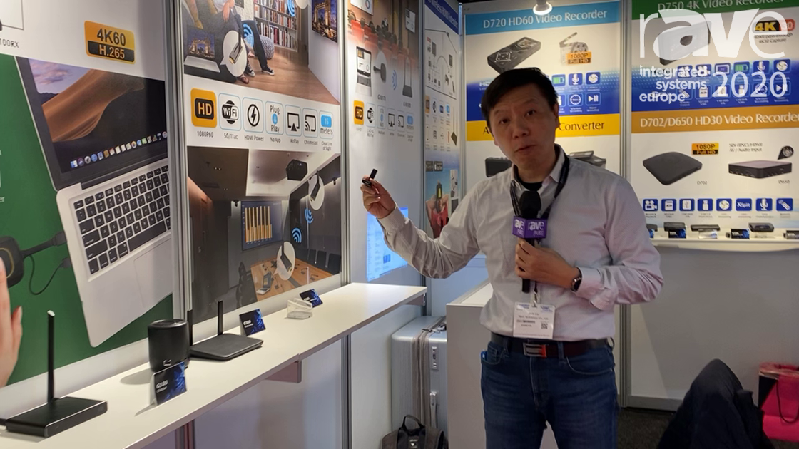 ISE 2020: TEVII Technology Features Its Wireless HDMI Extender