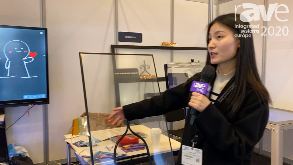 ISE 2020: Touch Explorer Showcases Its Projective Capacitive Touch Foil