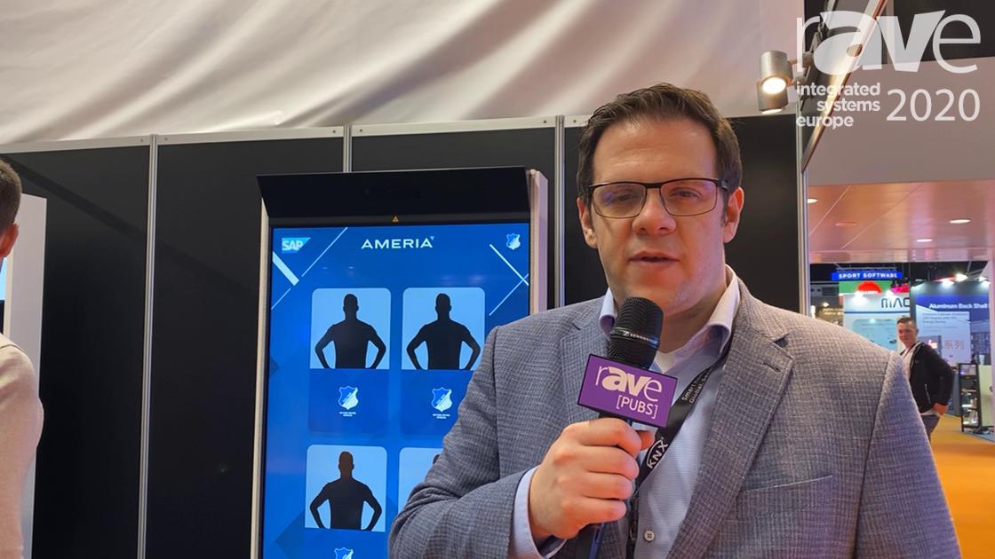 ISE 2020: Ameria AG Demos an Augmented Reality Photo Box in Football Club Application