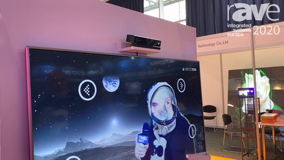 ISE 2020: Critec Demos ARt Augmented Reality Technology for Digital Signage Brand Activation