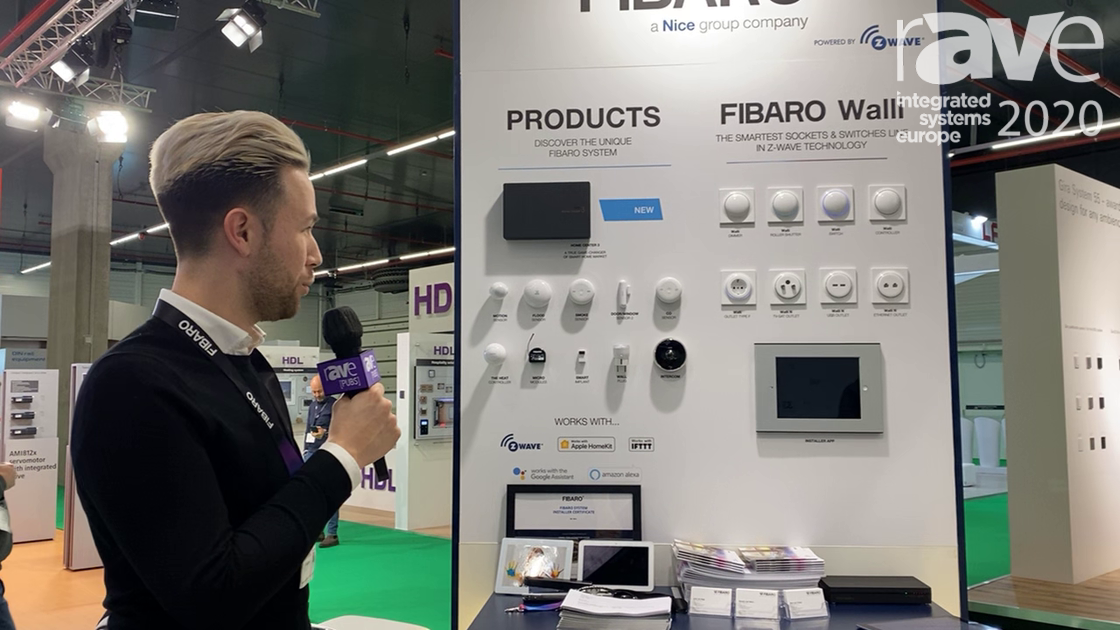ISE 2020: FIBARO Intros Home Center 3, an All New Interface, on the Z-Wave Alliance Stand